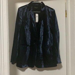 Blue Velvet Suit (pants & jacket)